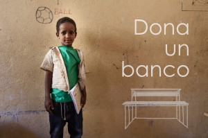 Donate a school bench